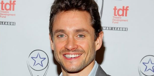 Hugh Dancy recording ISDN at our Toronto studio